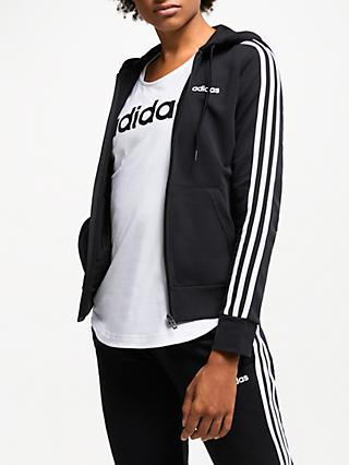 adidas Essentials 3-Stripes Full Zip Training Hoodie