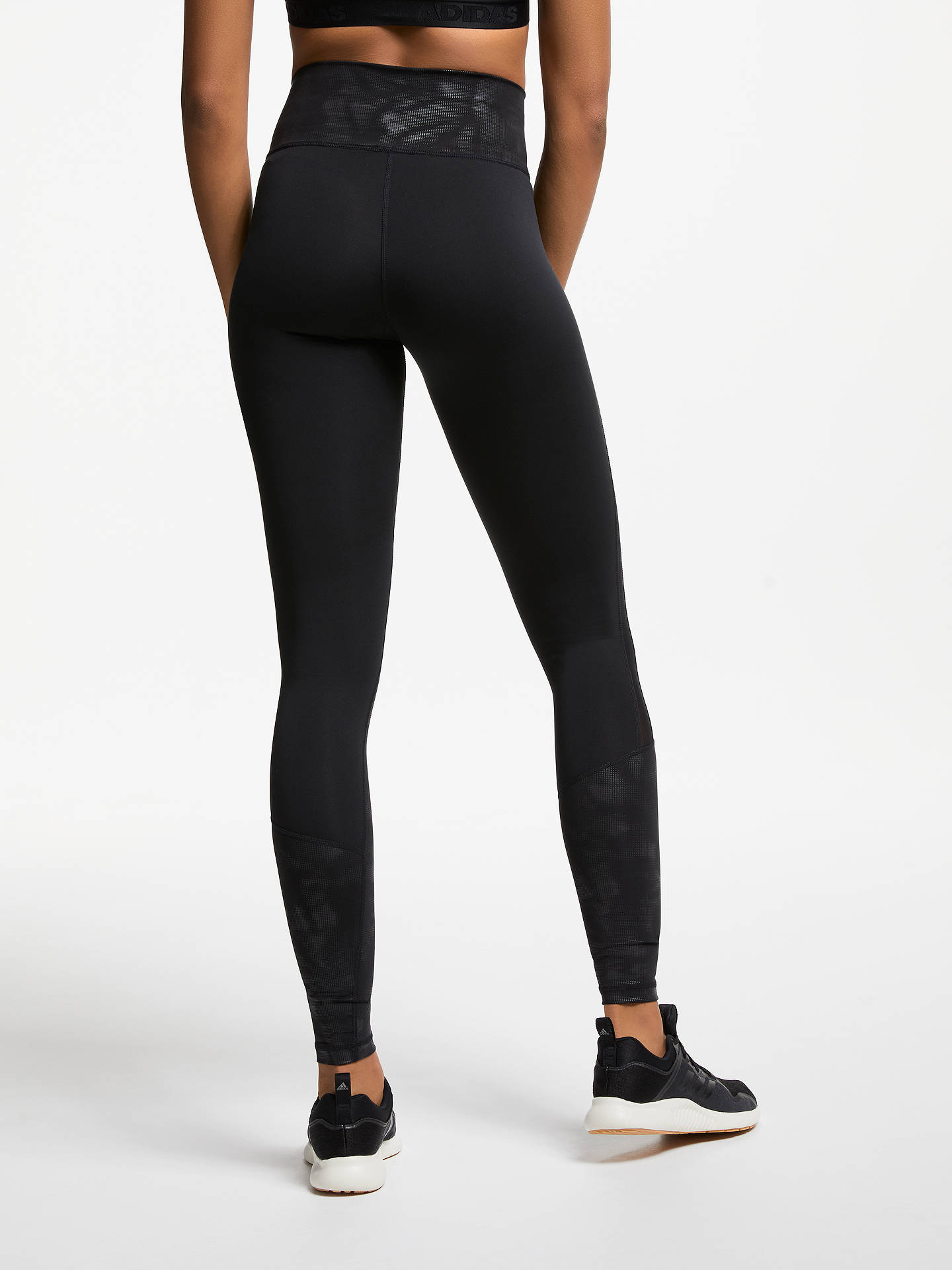Buyadidas Design 2 Move High-Rise Tights, Black/Print, M Online at johnlewis.com