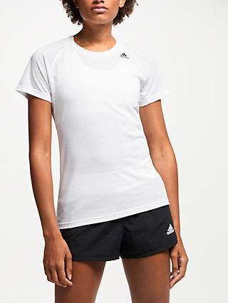 64d644b4 adidas Prime 2.0 Short Sleeve Training Top, White