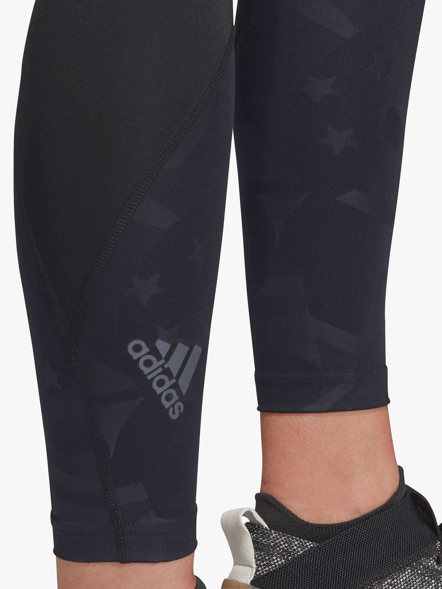 fc00636469 ... Buy adidas Alphaskin Sport 2.0 Embossed 7/8 Training Tights, Black,  Black,