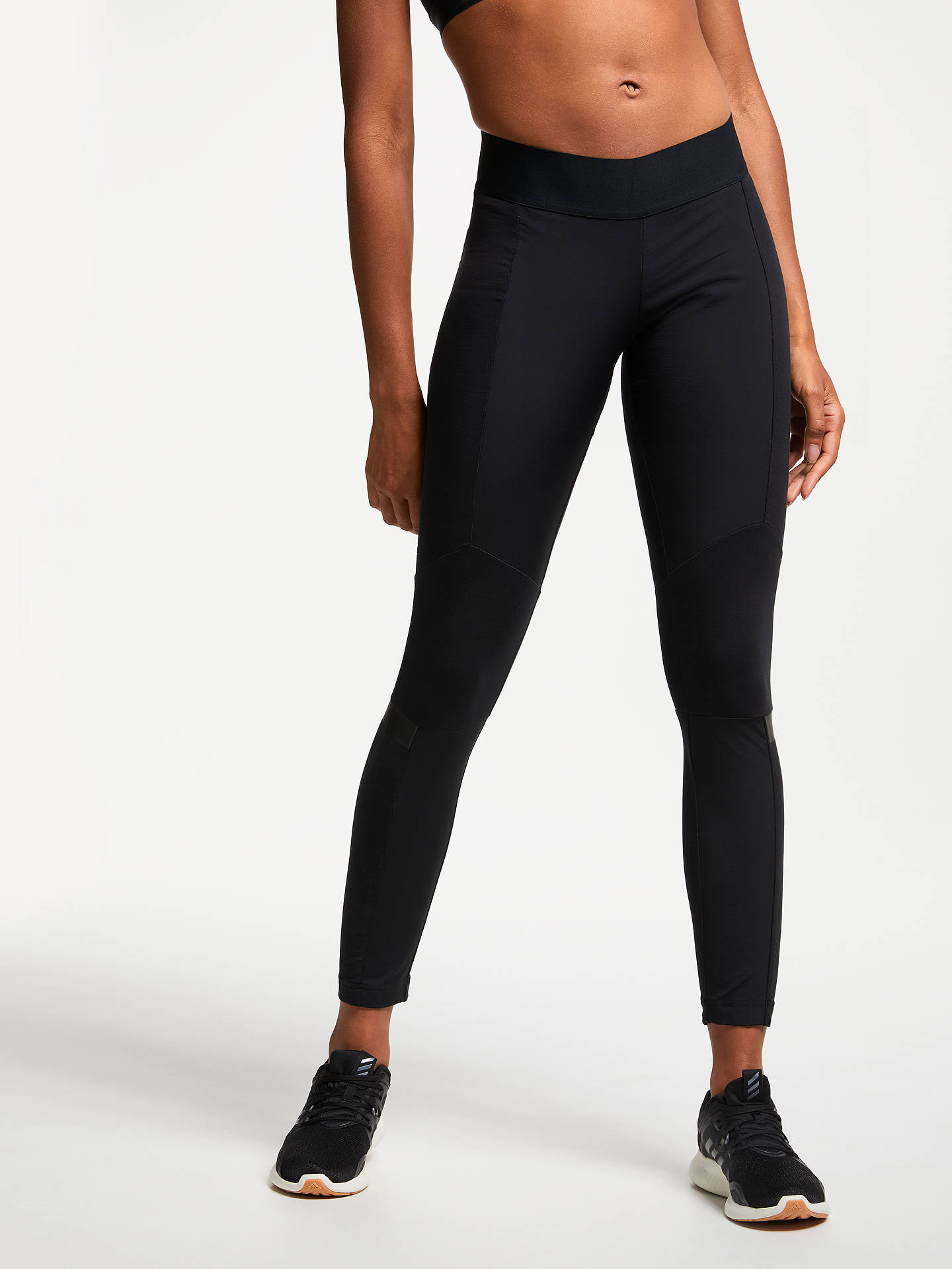 Buy adidas WND Training Tights, Black, M Online at johnlewis.com