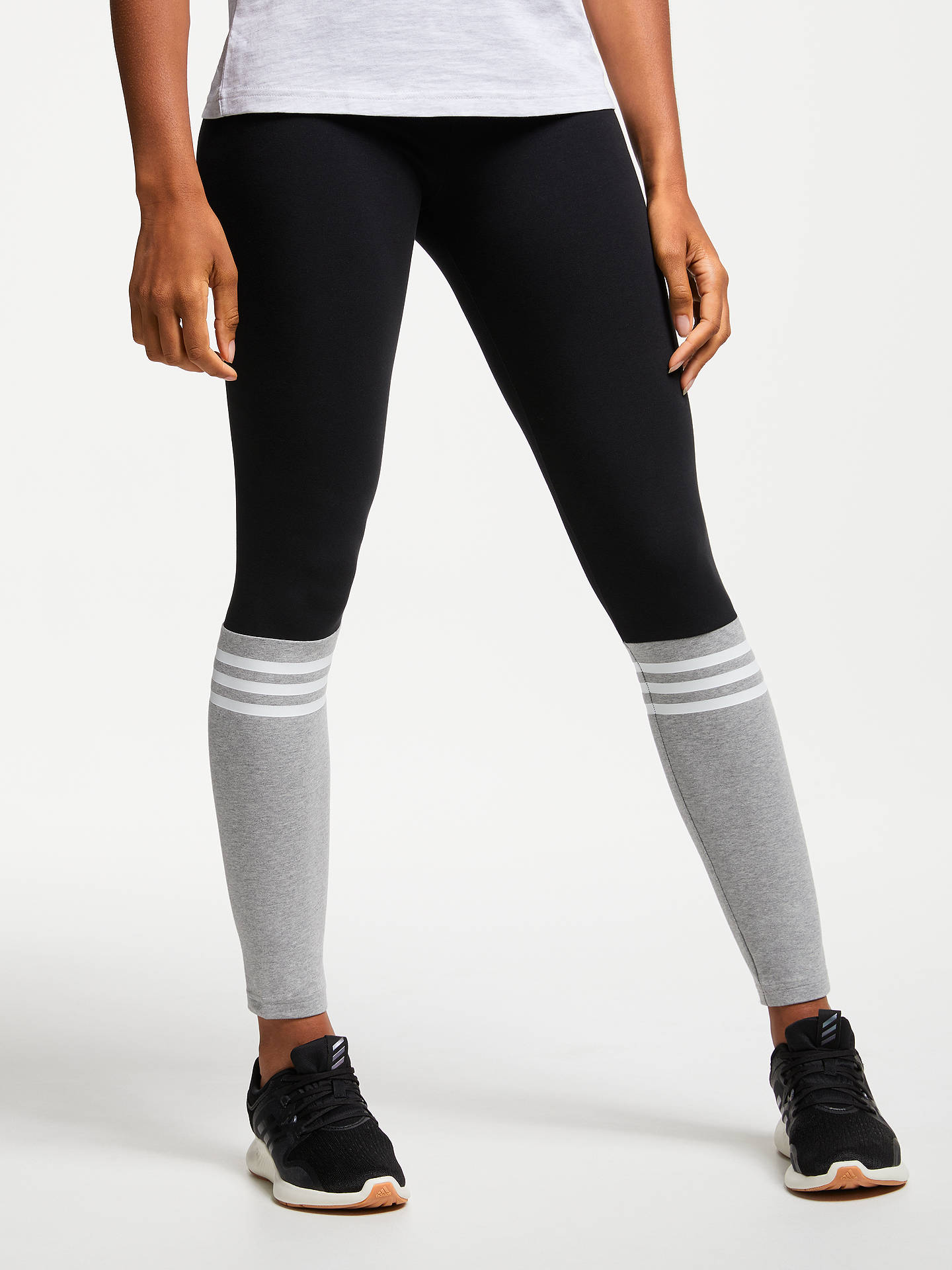 2be6013a3f744 Buy adidas Sport ID Tights, Black, XS Online at johnlewis.com ...