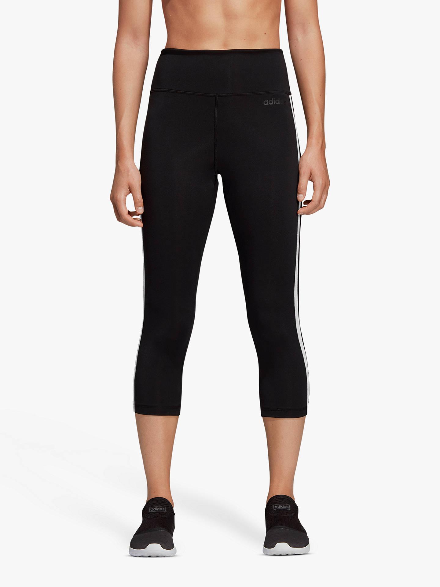 3057787be5956 Buy adidas Design 2 Move 3 Stripes 3/4 Training Tights, Black, XS ...