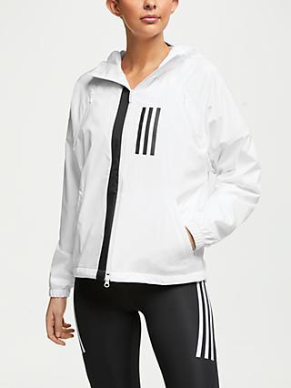 adidas WND Fleece-Lined Jacket, White
