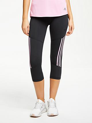 629173d17798a adidas Design 2 Move High Rise 3/4 Training Tights, Black/True Pink