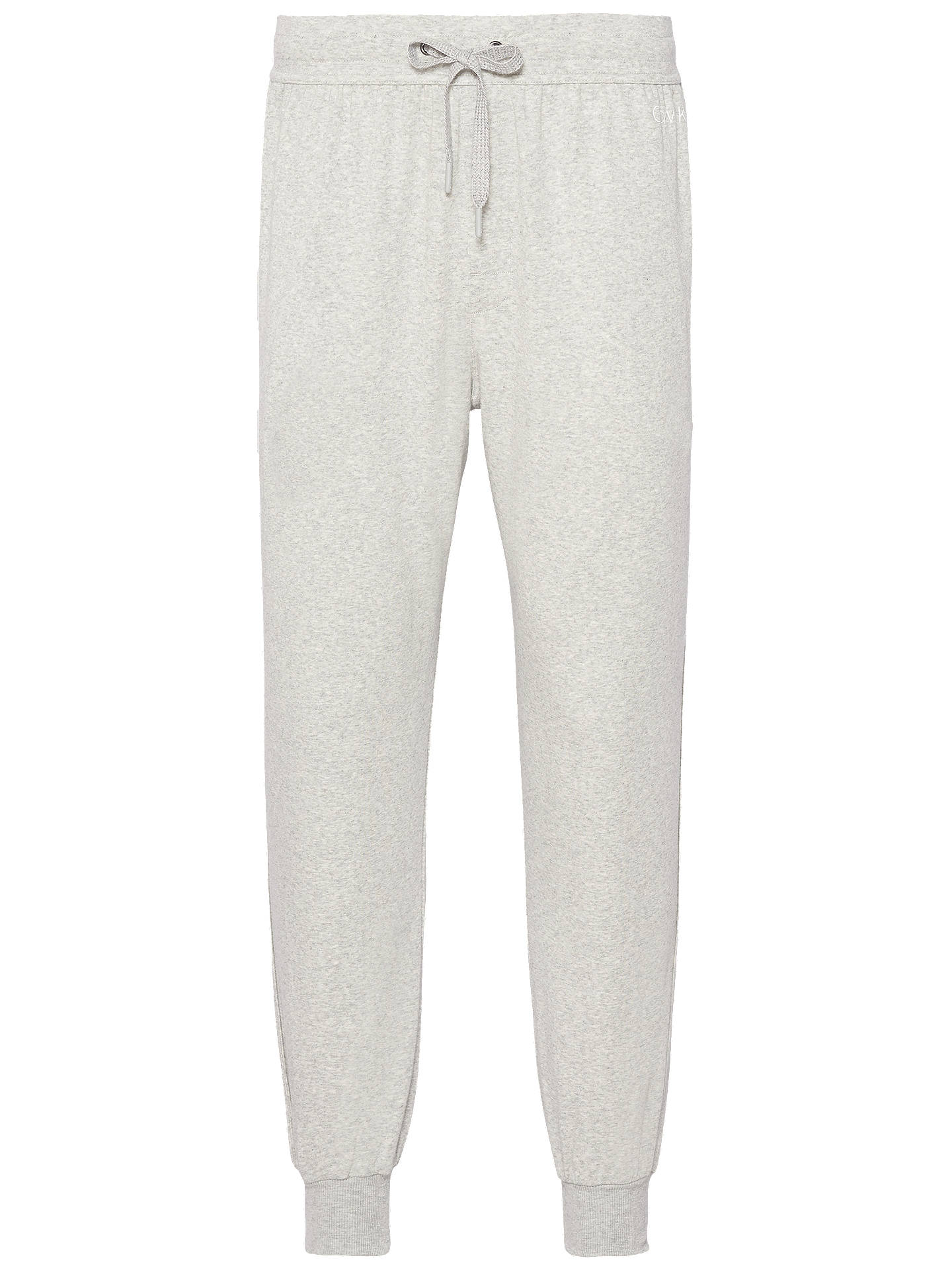 Buy Calvin Klein Jogging Bottoms, Grey, S Online at johnlewis.com