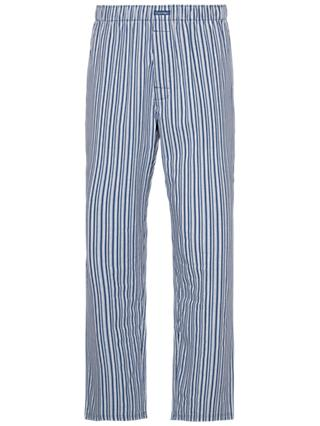 Calvin Klein Striped Cotton Pyjama Pants, Multi