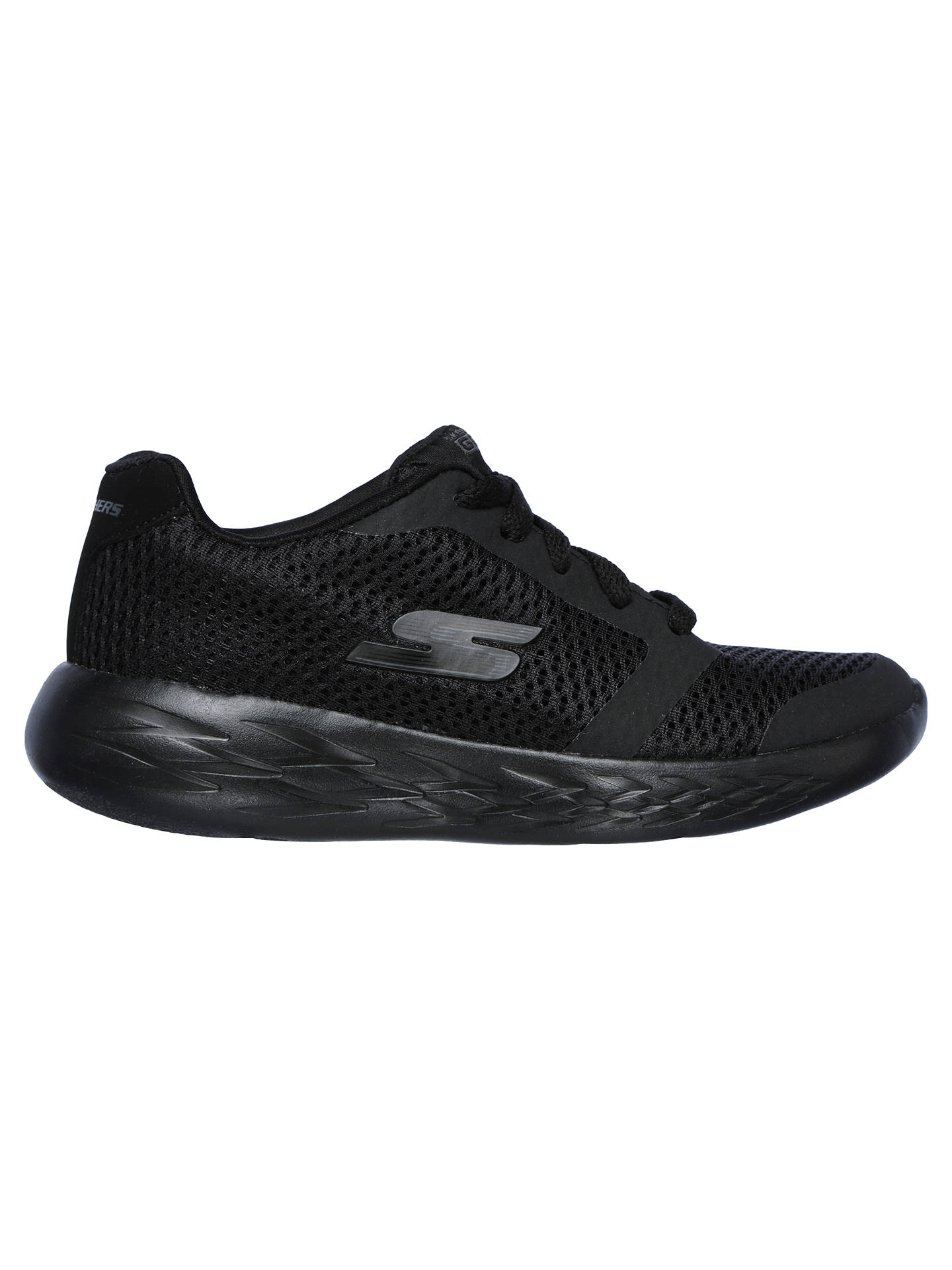 BuySkechers Children's Go Run Zeeton 600 Trainers, Black, 39 Online at johnlewis.com