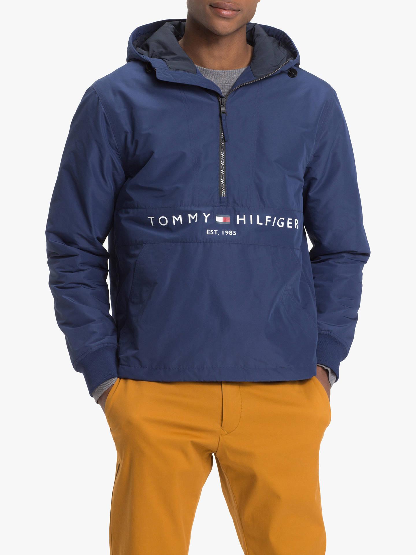 på fødder skud af engros online kvalitetsprodukter Tommy Hilfiger Padded Anorak Jacket, Blue at John Lewis ...