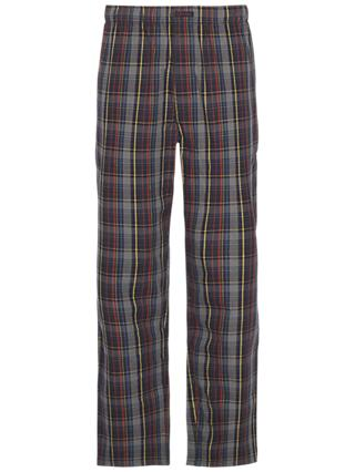 Calvin Klein Plaid Stripe Cotton Pyjama Pants, Multi