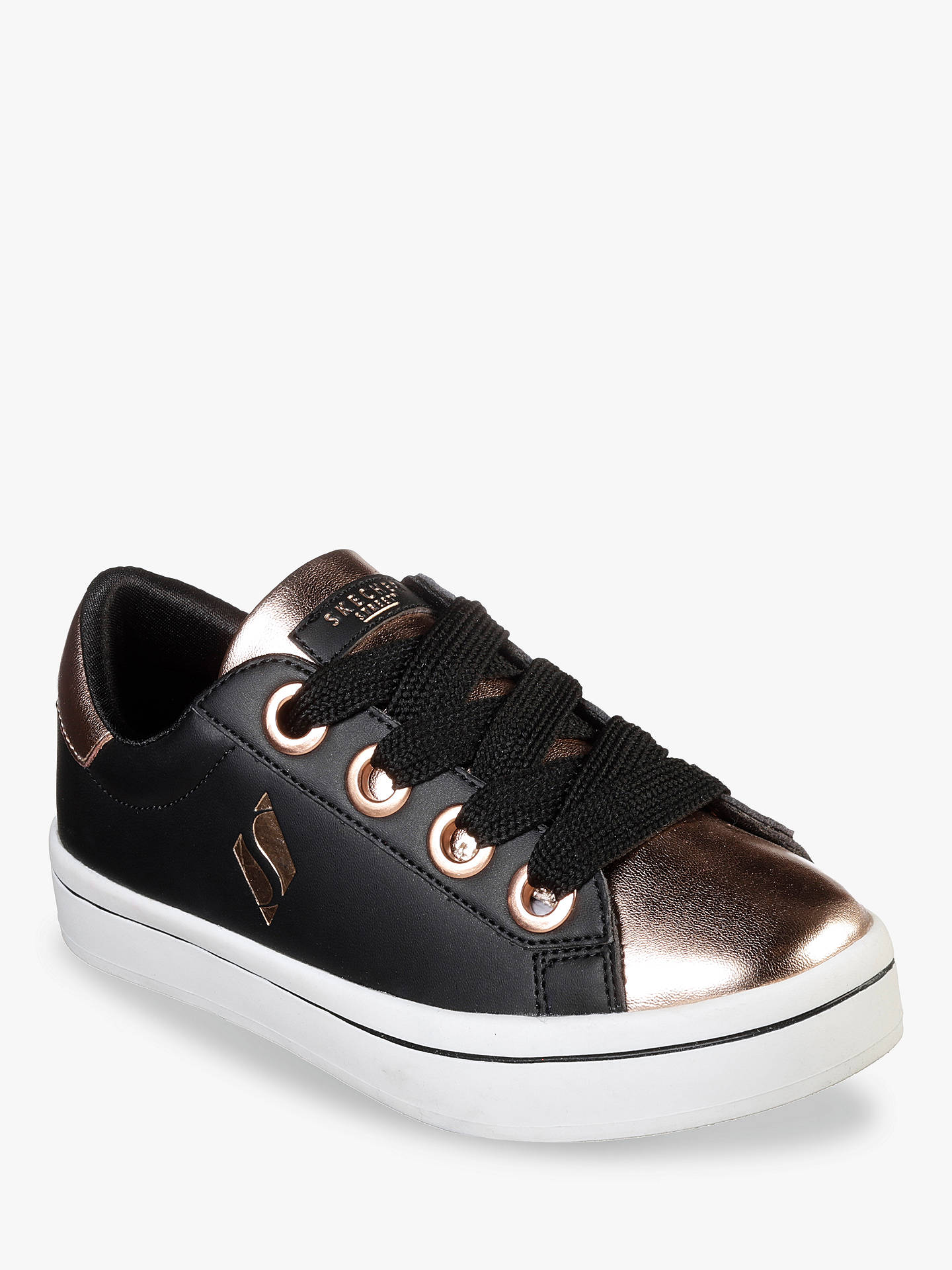 a61f99744af9 Buy Skechers Children s Hi Lite Metallic Lace Up Trainers