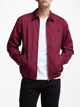 Carhartt WIP Madison Twill Collared Jacket, Mulberry