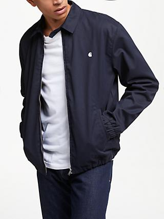 Carhartt WIP Madison Twill Collared Jacket, Dark Navy