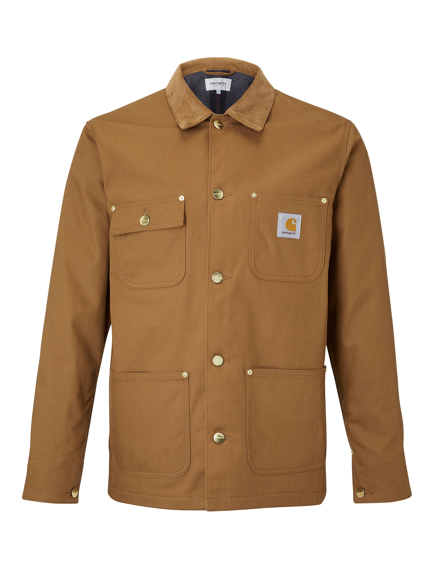 Buy Carhartt WIP Michigan Jacket, Hamilton Brown, S Online at johnlewis.com