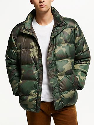 Carhartt WIP Deming Quilted Camo Jacket, Camo Laurel