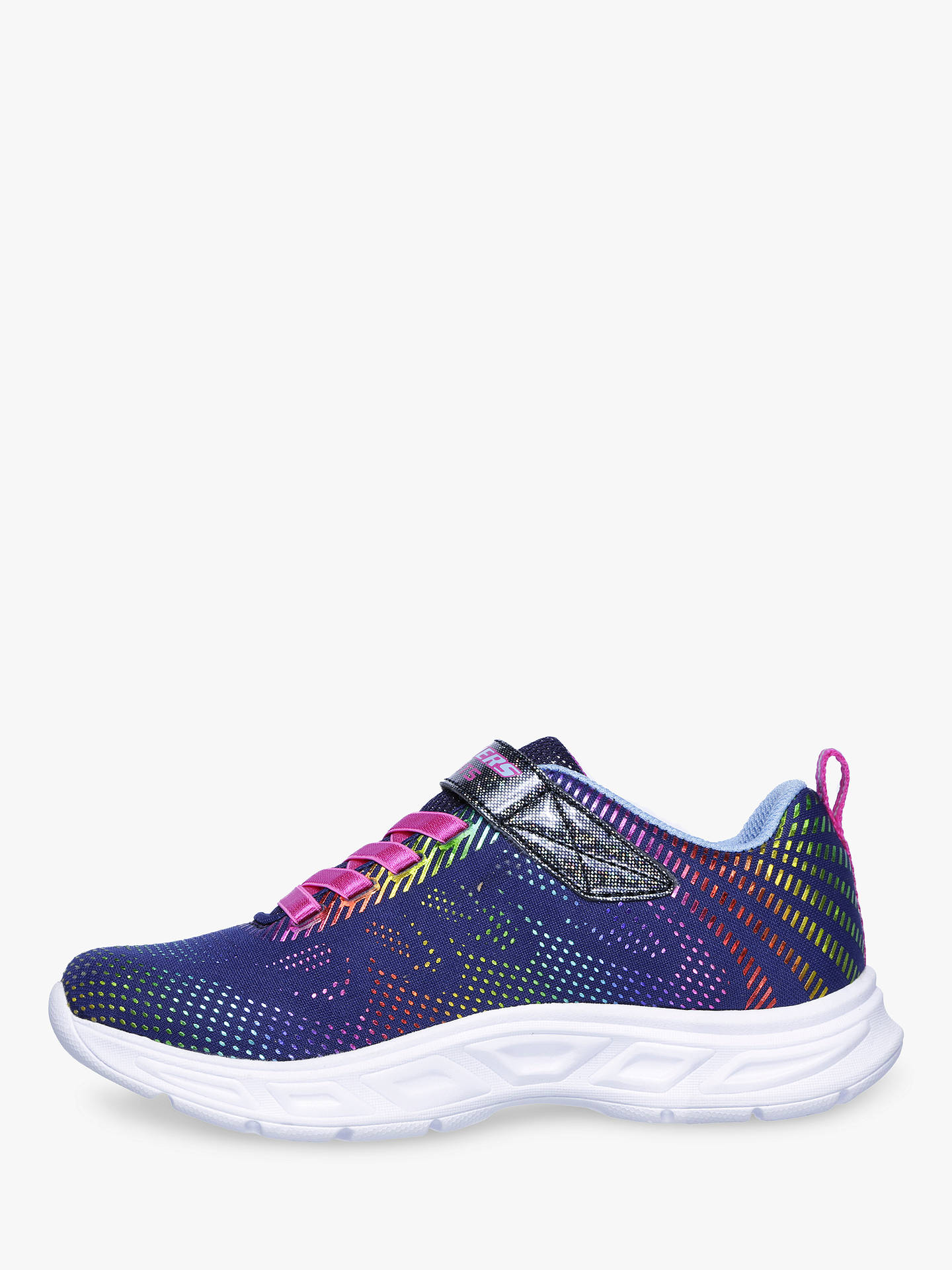 BuySkechers Children's S-Lights Lite Beams Gleam N' Dream Trainers, Purple, 28 Online at johnlewis.com