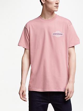 Carhartt WIP Detroit Short Sleeve Logo T-Shirt, Soft Rose