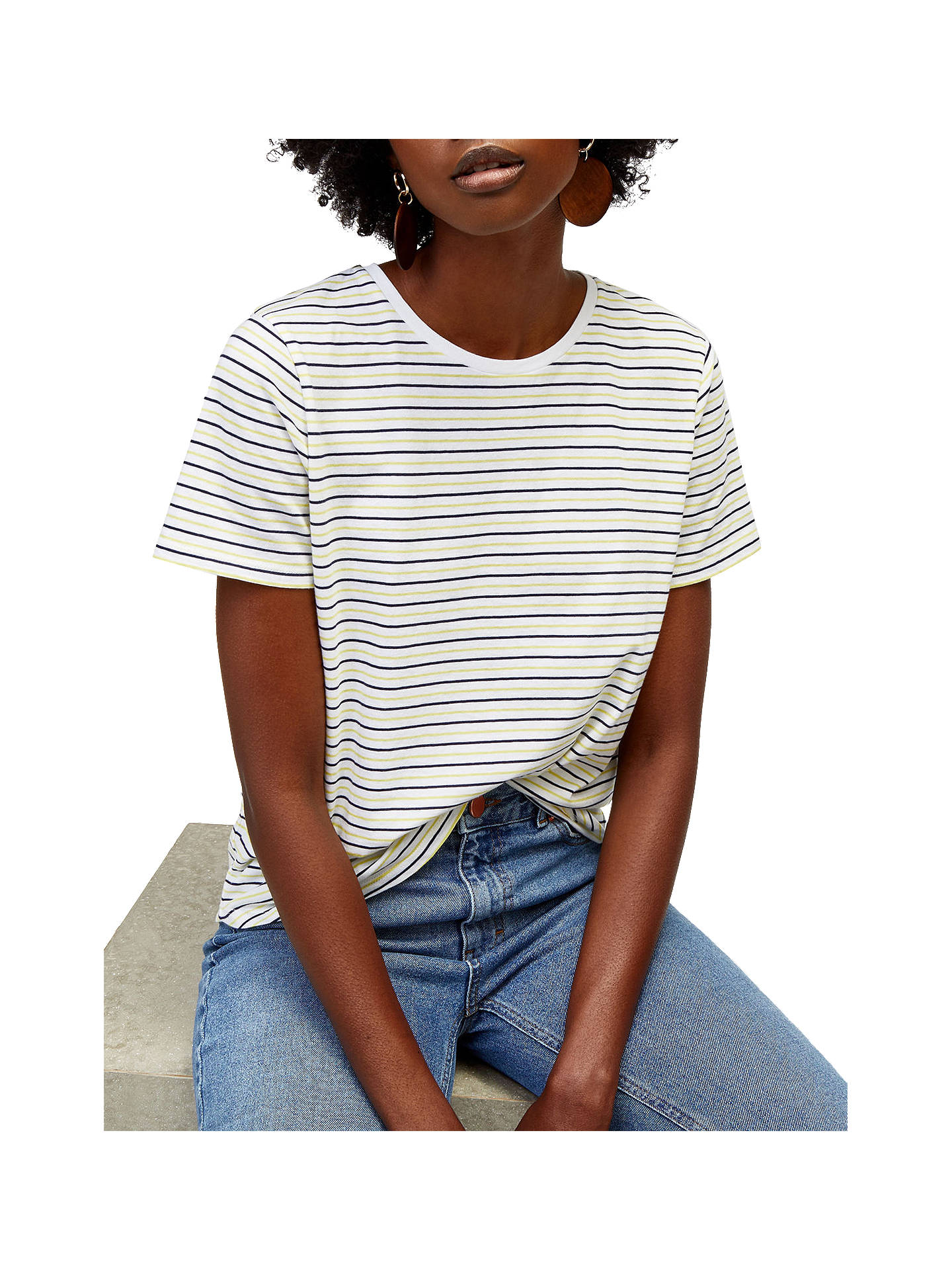 f724d6cbda Buy Warehouse Tri-Colour Stripe T-Shirt