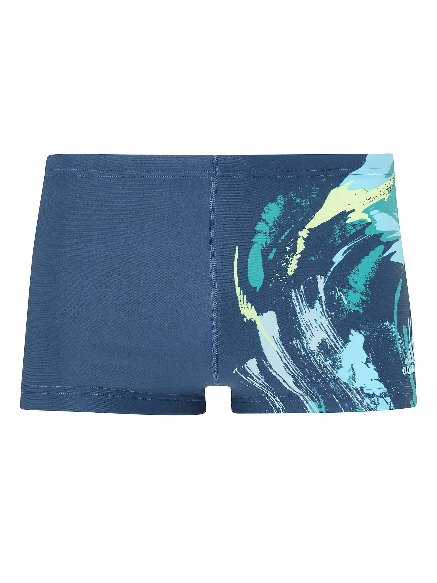 cd08690f32 Buy adidas Parley Commit Swim Boxer Shorts, Legend Ink, 30 Online at  johnlewis.