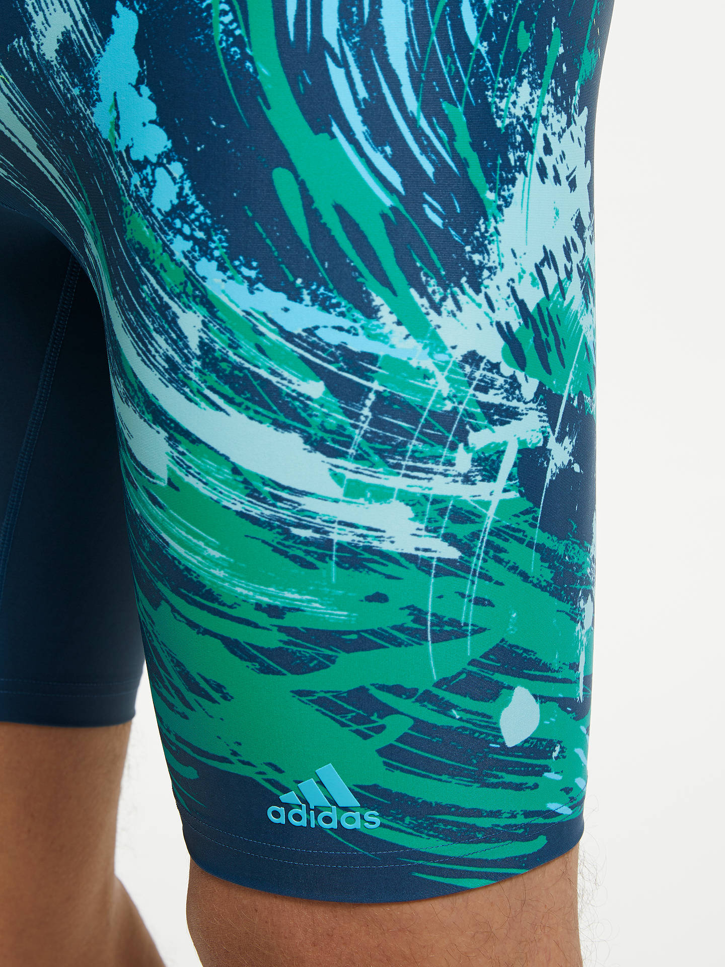 2627e63722803 Buy adidas Parley Commit Jammer Swimming Shorts, Legend Ink, 30 Online at  johnlewis.