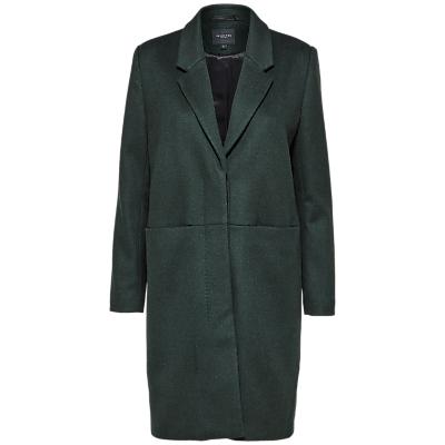 Selected Femme Boa Wool Blend Coat, Scarab