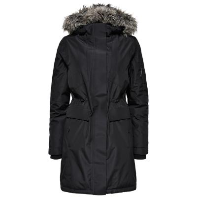 Selected Femme Technical Coat, Black