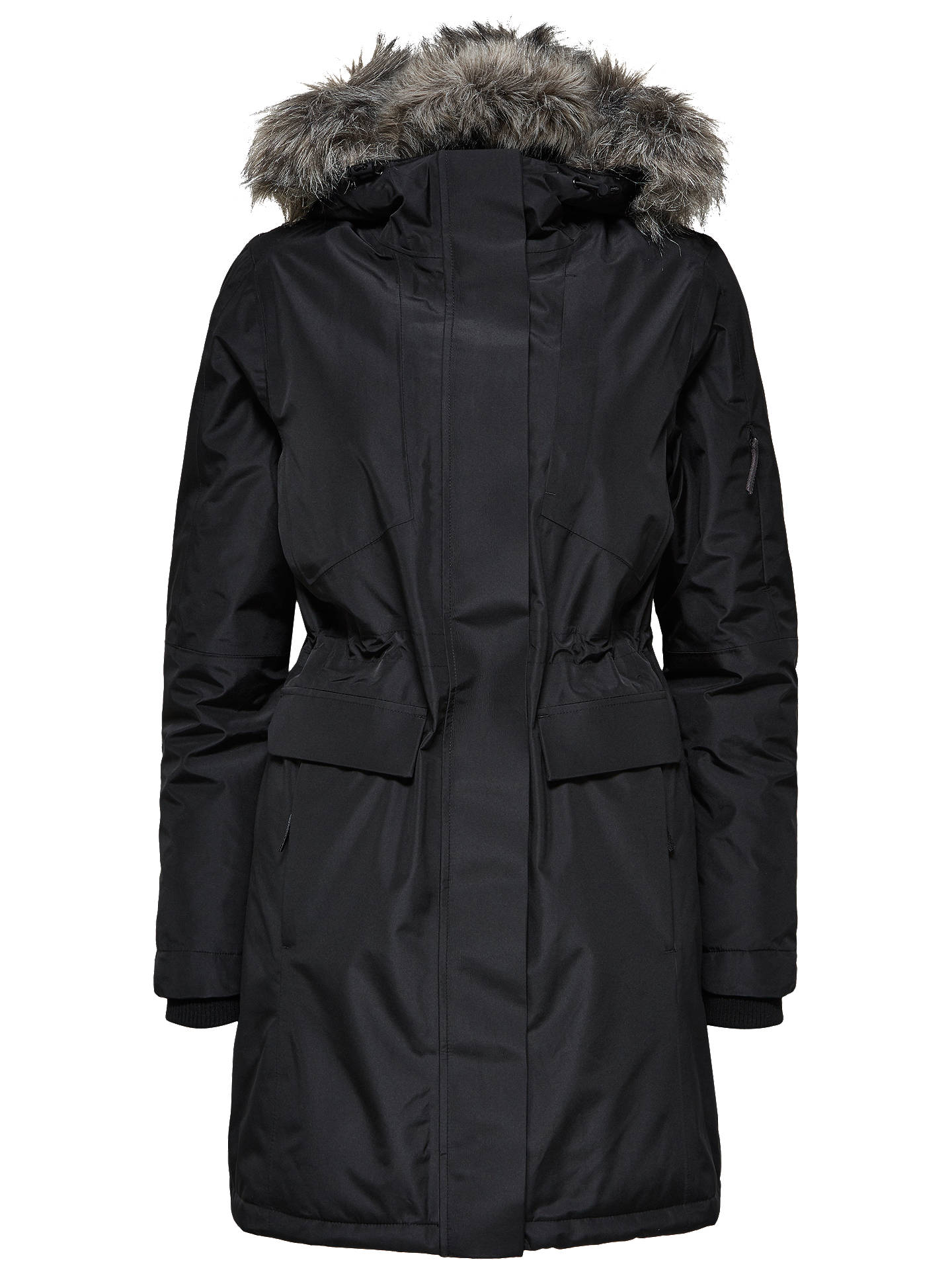Buy Selected Femme Technical Coat, Black, 8 Online at johnlewis.com