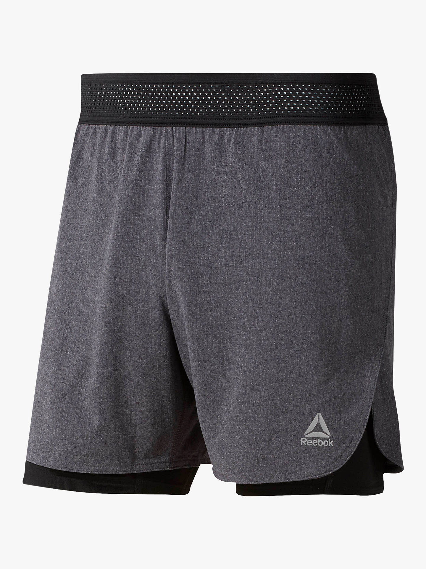premium selection a9ca9 8638f Buy Reebok One Series Running Epic 2-in-1 Running Shorts, Black, ...
