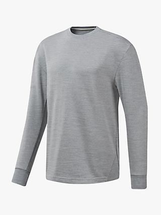 Reebok Training Essentials Marble Group Crew Sweatshirt, Skull Grey