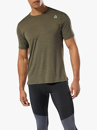 328564be Reebok One Series Training ACTIVChill Top, Army Green