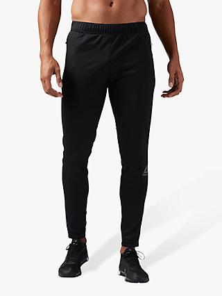 Reebok Speedwick Knitted Trackster Tracksuit Bottoms, Black