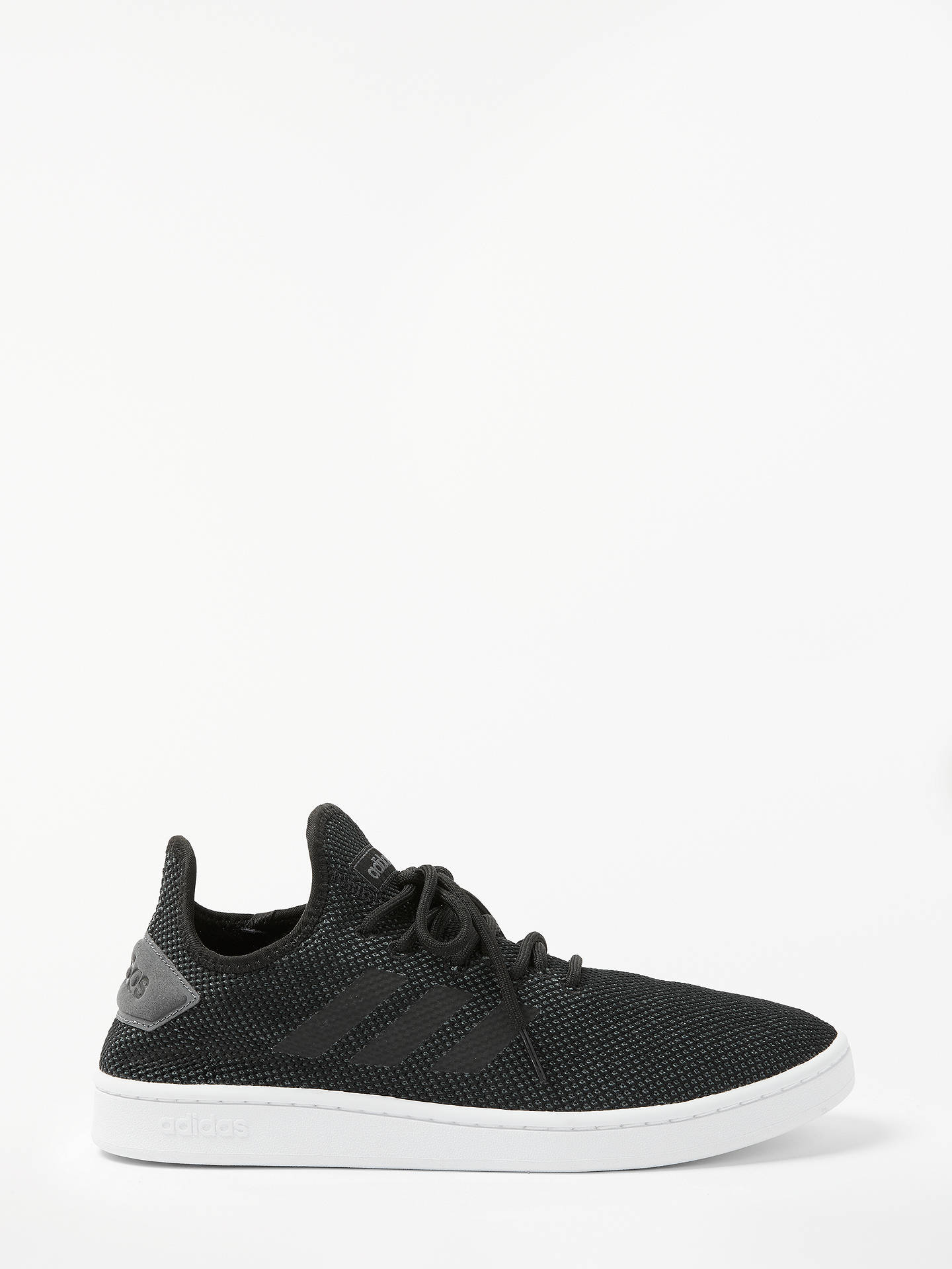 huge discount 97283 60b09 Buy adidas Court Adapt Men s Trainers, Core Black, 7 Online at johnlewis.  ...