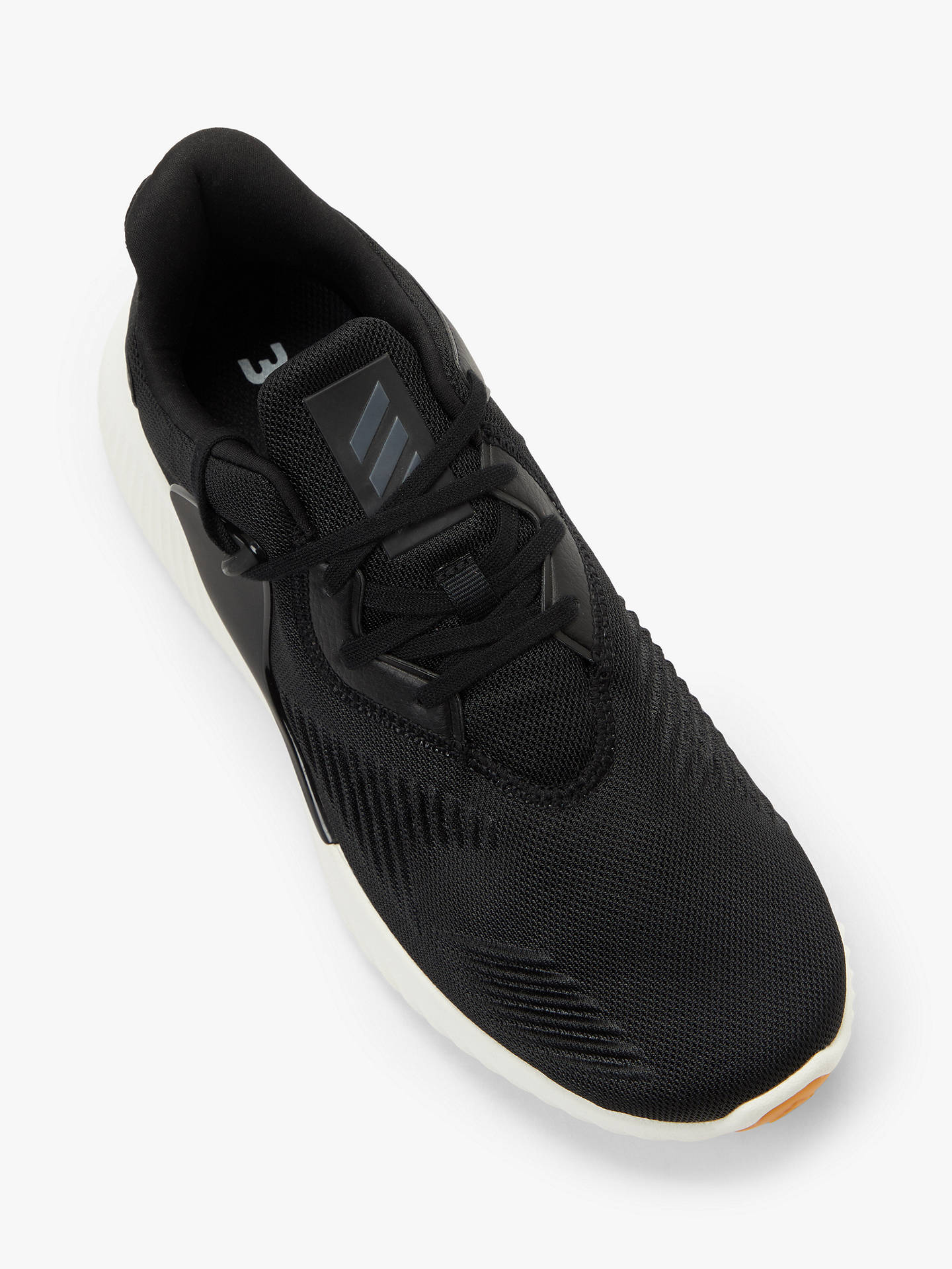 Buy adidas Alphabounce 2.0 Men's Running Shoes, Core Black/Night Met, 7 Online at johnlewis.com