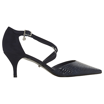 e10d4c0c6125 Dune Courtnee Cross Strap Kitten Heel Court Shoes. Dune Courtnee Cross  Strap Kitten Heel Court Shoes. John Lewis & Partners