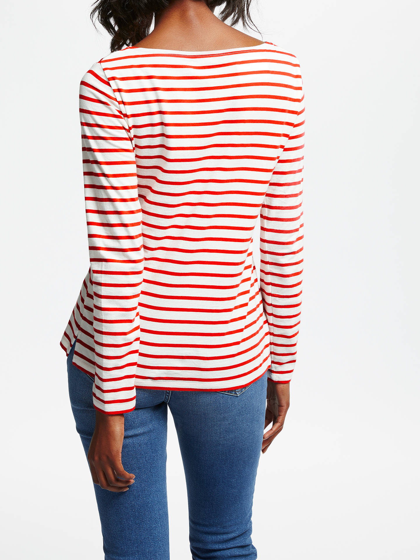 Buy Boden Make A Statement Breton Top, Tres Groovy, 8 Online at johnlewis.com