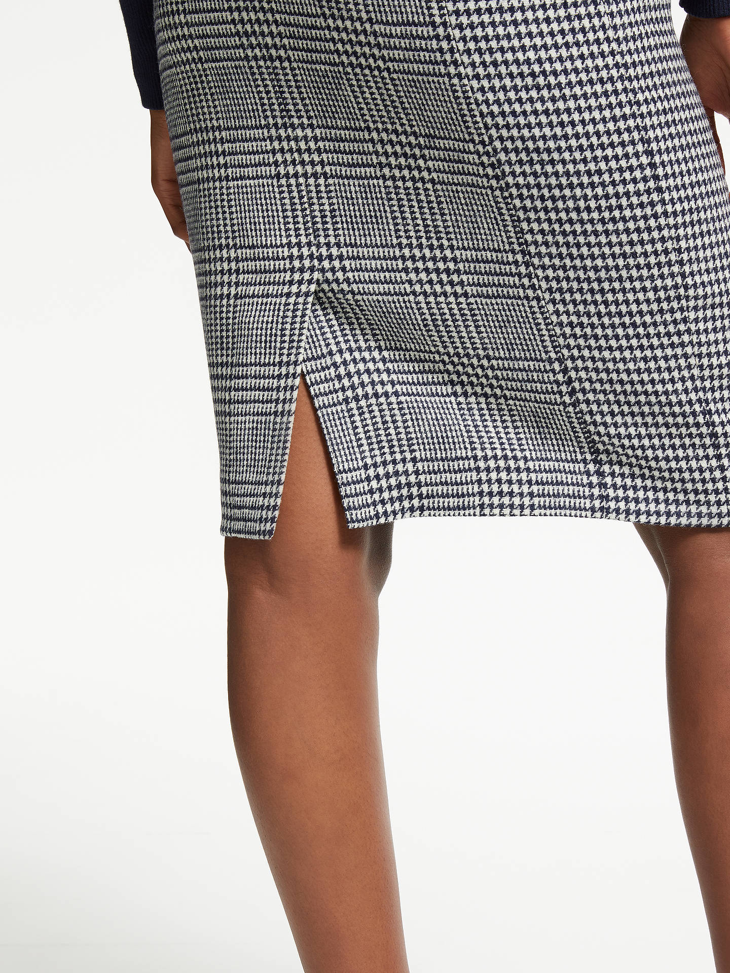 BuyBoden Tweed Pencil Skirt, Navy and Ivory, 10 Online at johnlewis.com