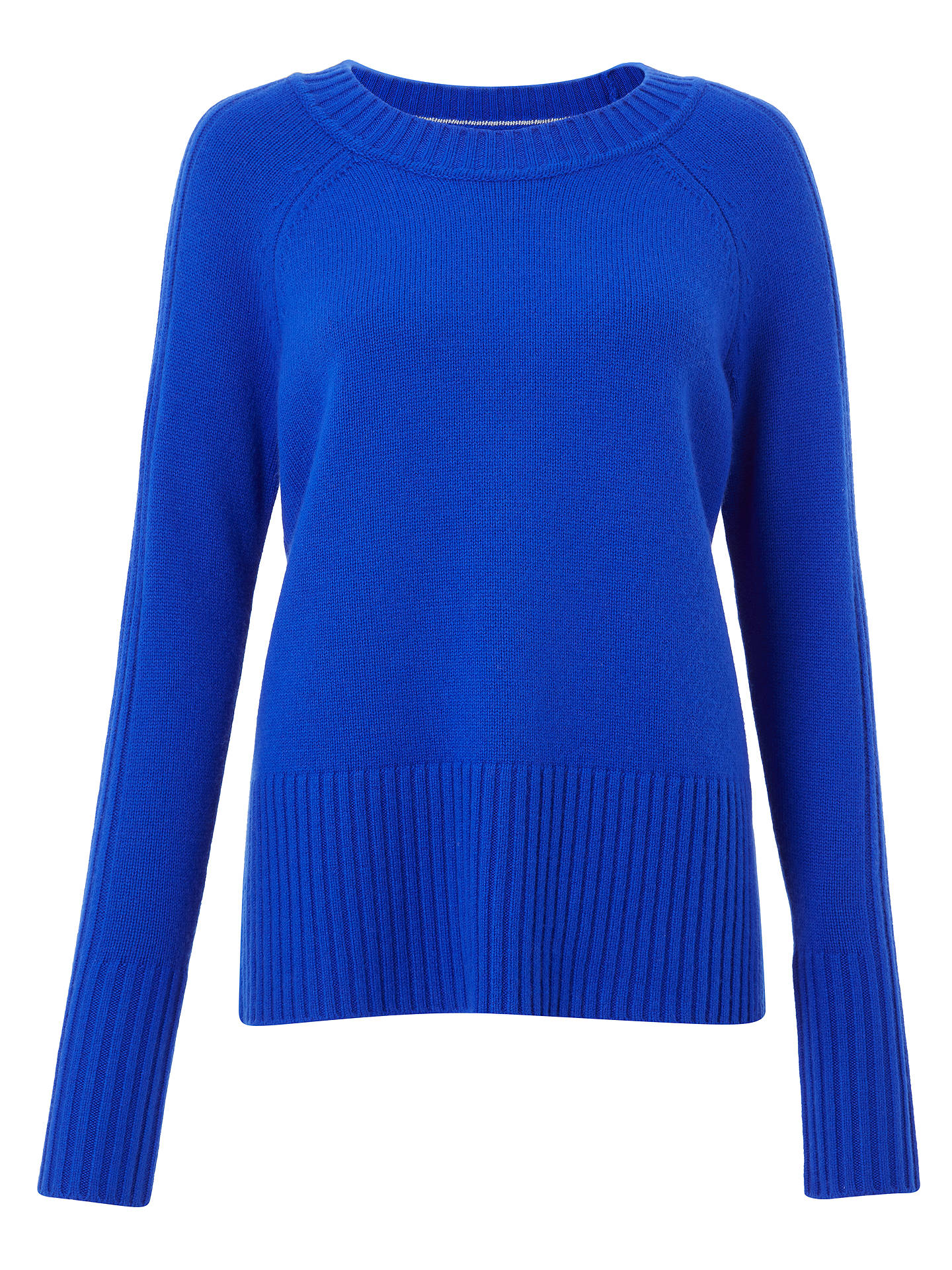 Buy Boden Heidi Jumper, Cyan, L Online at johnlewis.com