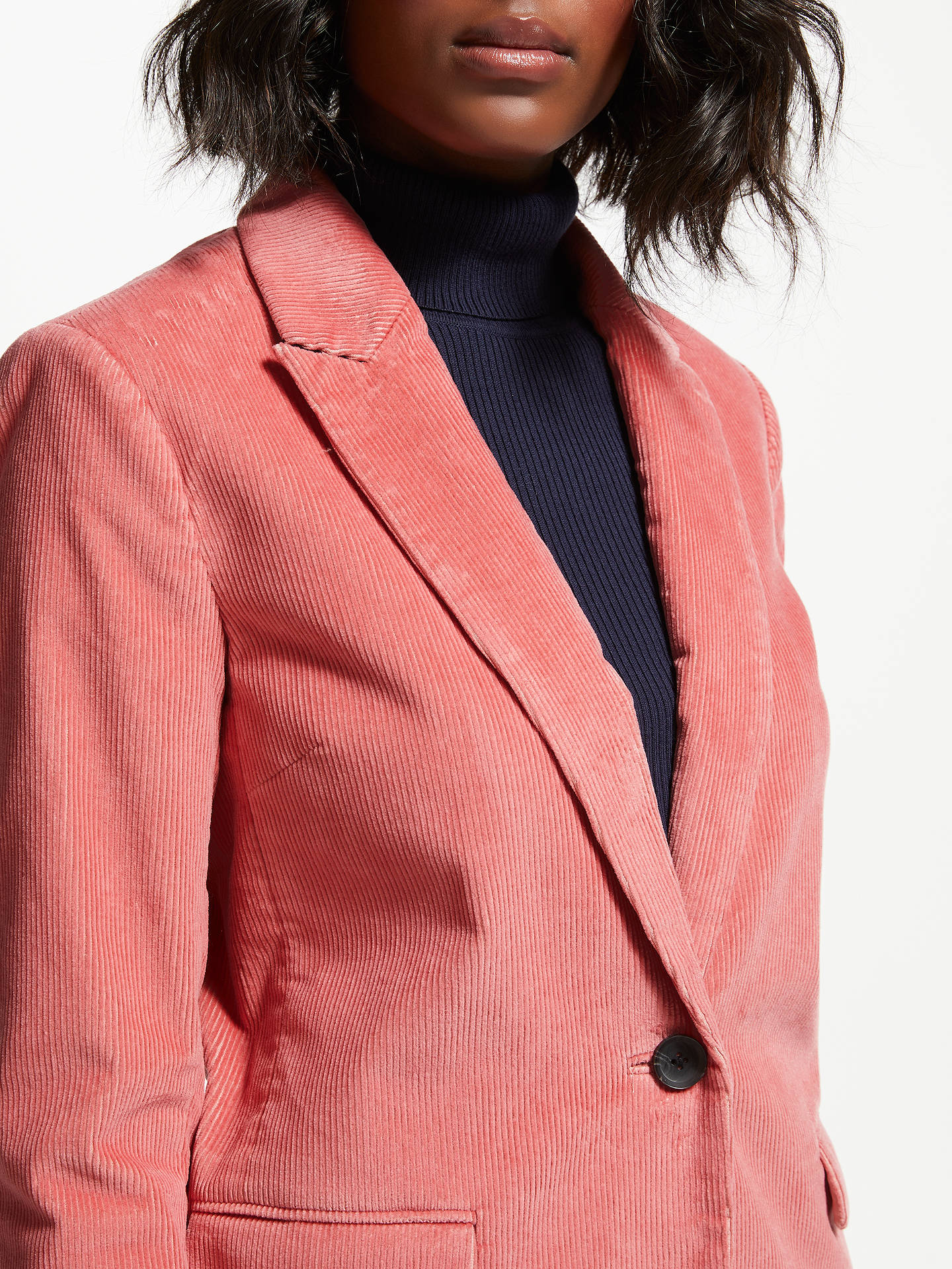 BuyBoden Oxshott Blazer, Blush, 10 Online at johnlewis.com