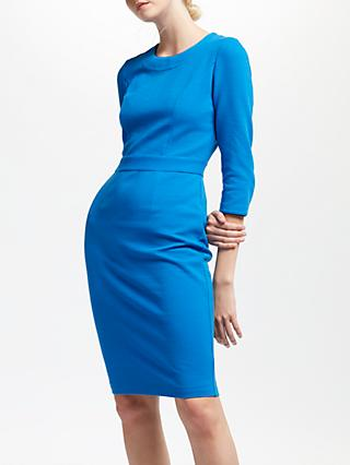 Boden Mia Ottoman Dress, Cyan