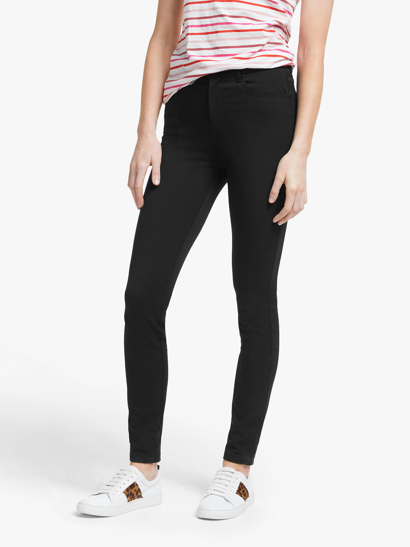 BuyBoden Mayfair Jeans, Black, 10 Online at johnlewis.com
