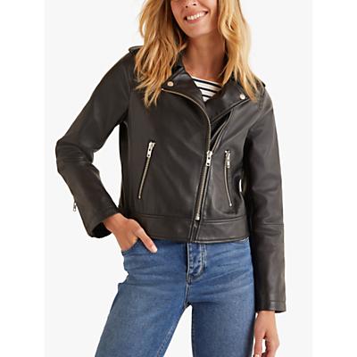 Boden Morleigh Leather Jacket Black 298 00 Port
