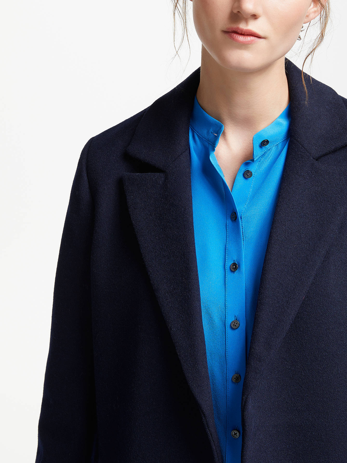 Buy Boden Rushmoor Jacket, Navy, 8 Online at johnlewis.com