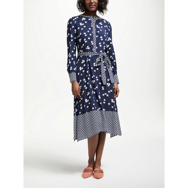 BuyBoden Eva Dress Navy 10 Online at