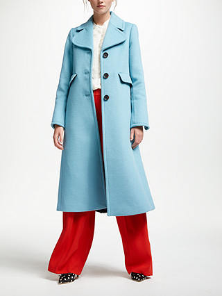 Buy Boden Farleigh Coat, Heritage Blue, 10 Online at johnlewis.com