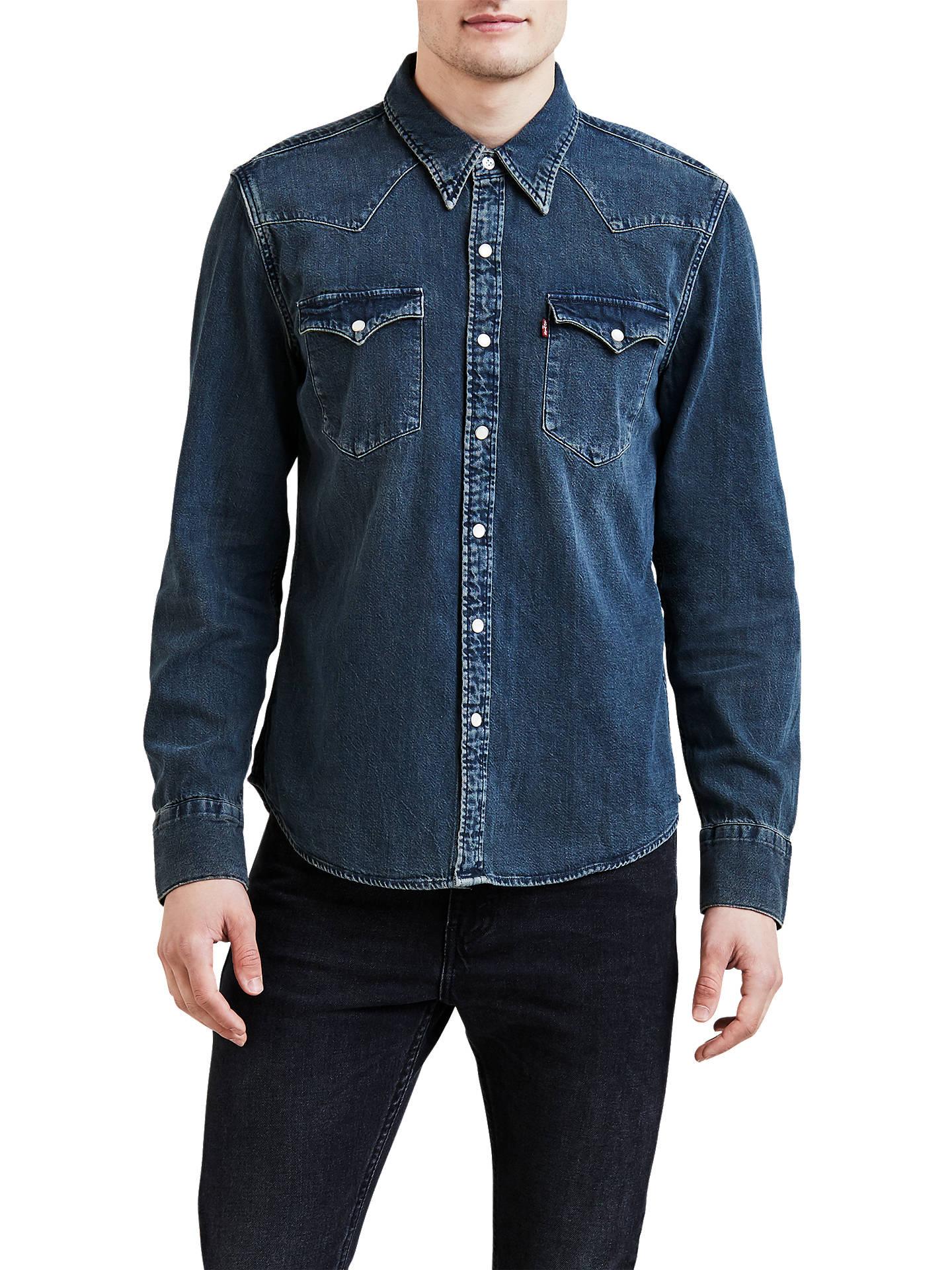 8d1df1b304 Buy Levi s Barstow Western Denim Shirt