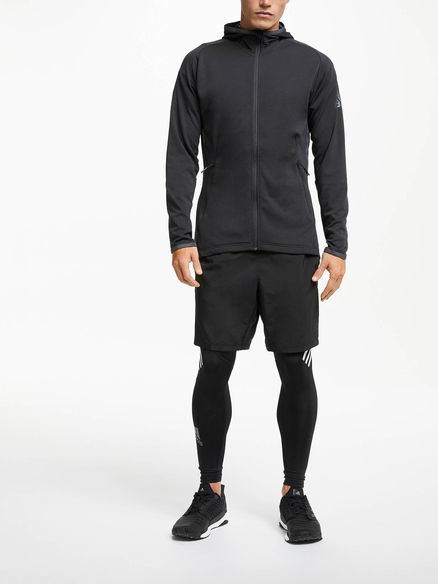 adidas FreeLift Climacool Hooded Jacket Men carbon black