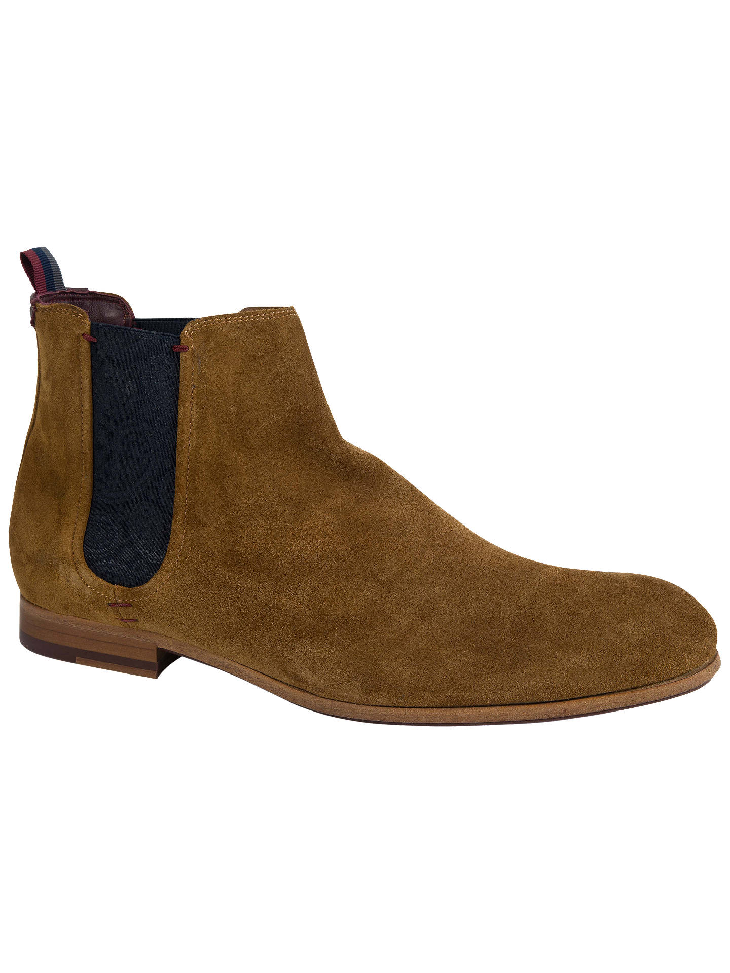 Buy Ted Baker Saldor Chelsea Boots, Brown, 12 Online at johnlewis.com