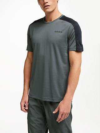 adidas D2M Training Top, Grey Six