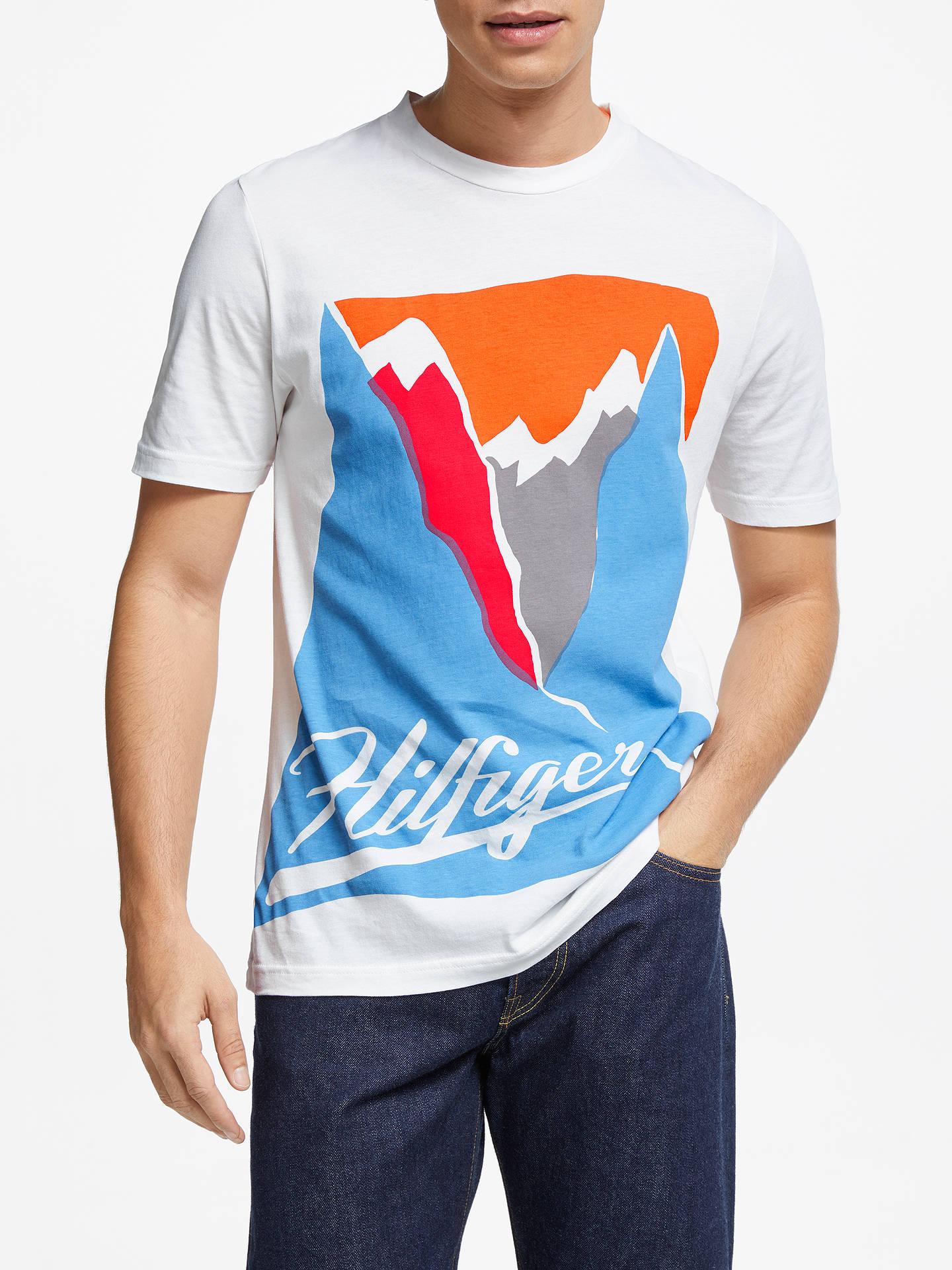 0c0ebb77d Buy Tommy Hilfiger Mountain Print T-Shirt