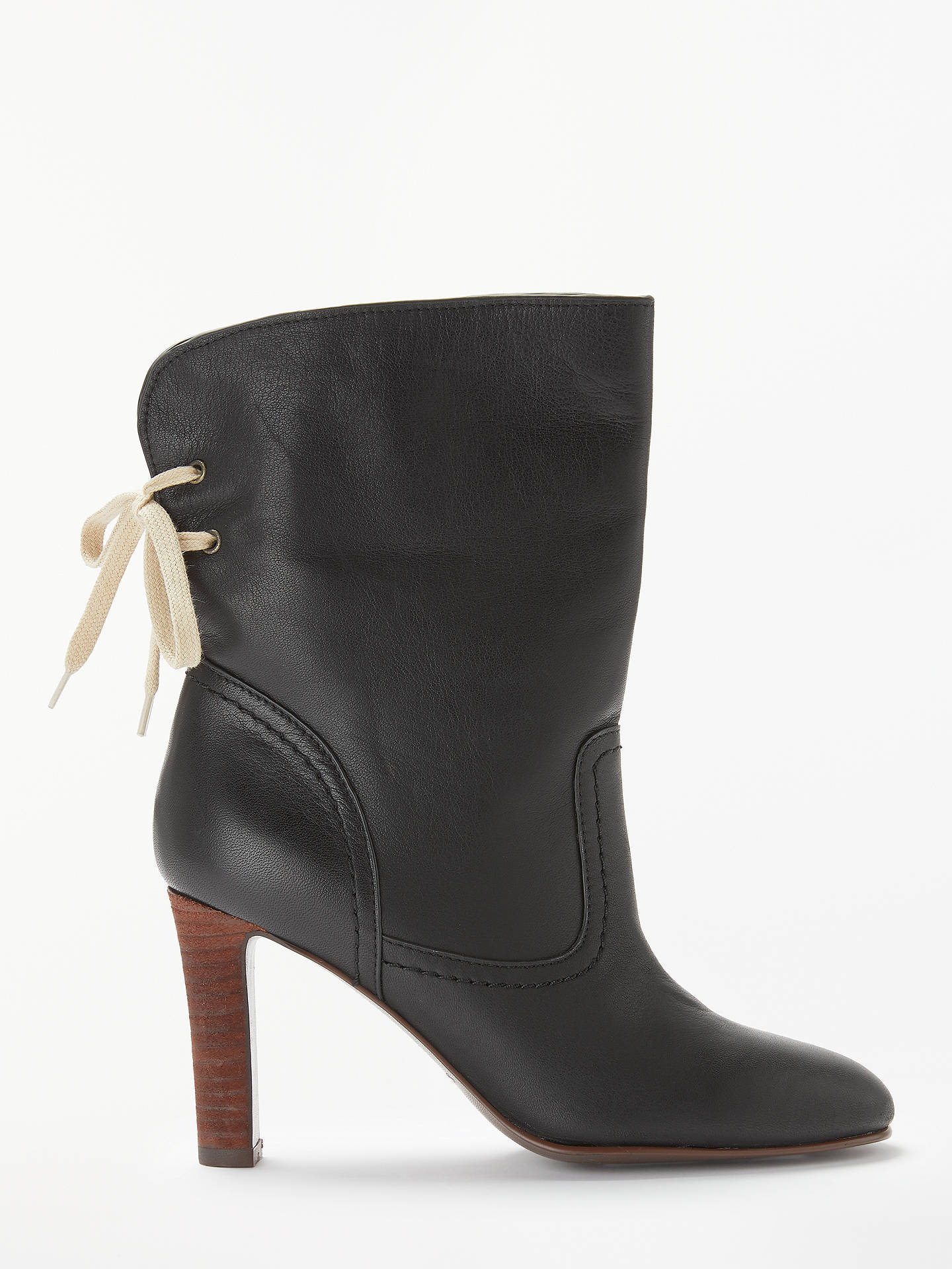 d2b9e410cb06b BuySee By Chloé High Block Heeled Ankle Boots